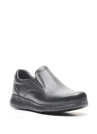 Bulldozer 210082 Erkek Deri  Comfort Ayakkabı Siyah